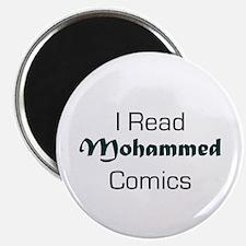 I Read Mohammed Comics Magnet