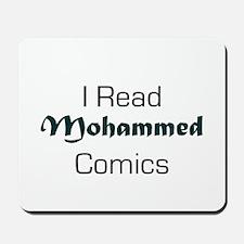 I Read Mohammed Comics Mousepad