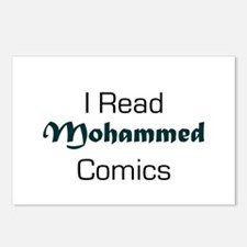 I Read Mohammed Comics Postcards (Package of 8)