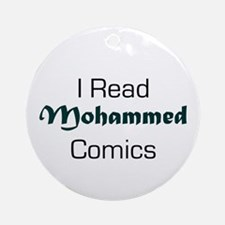 I Read Mohammed Comics Ornament (Round)