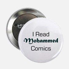I Read Mohammed Comics Button