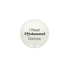 I Read Mohammed Comics Mini Button (10 pack)