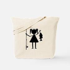 REEL GIRL Tote Bag