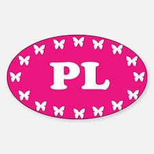Unique Poland eu Sticker (Oval)