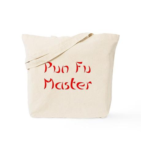 Pun Fu Master Tote Bag