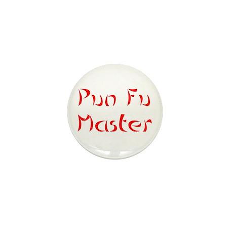 Pun Fu Master Mini Button