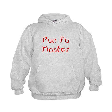 Pun Fu Master Kids Hoodie