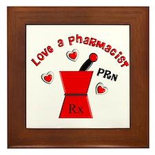 More Pharmacist Framed Tile