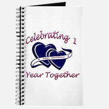 Cool 1st anniversary Journal