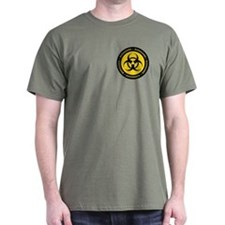Yellow & Black Biohazard T-Shirt