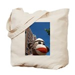 Ernie the Sock Monkey Tote Bag