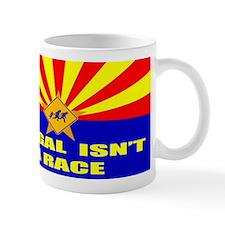 Illegal Isn't A Race Small Mug