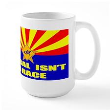 Illegal Isn't A Race Mug