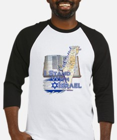 I Stand With Israel - Baseball Jersey