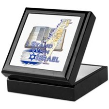 I Stand With Israel - Keepsake Box