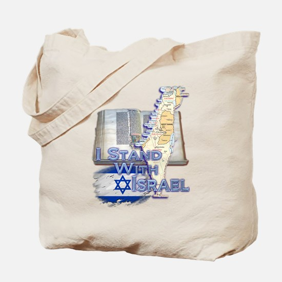 I Stand With Israel - Tote Bag