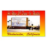 Hi-Way 39 Drive-In Theatre Sticker (Rectangle 10 p