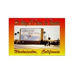 Hi-Way 39 Drive-In Theatre Rectangle Magnet (100 p