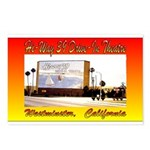 Hi-Way 39 Drive-In Theatre Postcards (Package of 8