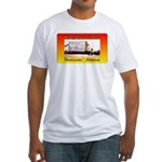 Hi-Way 39 Drive-In Theatre Fitted T-Shirt