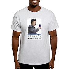 2005 World Peace Through Beer Grey T-Shirt