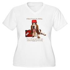 Basset Hound Bellhop T-Shirt
