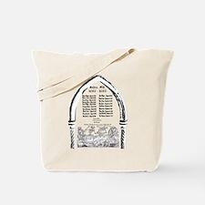 Salem Witch Trials Tote Bag