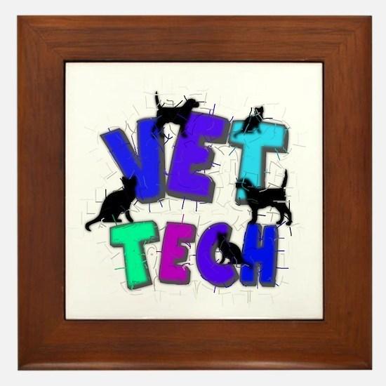 Veterinary II Framed Tile