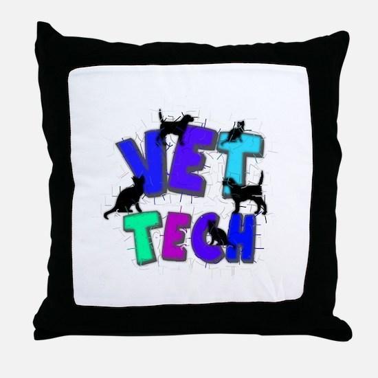 Veterinary II Throw Pillow