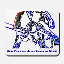 New Orleans Jazz Mousepad