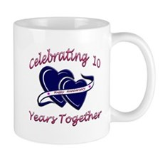 Tenth wedding anniversary Mug