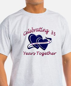 celebrating heart 35 T-Shirt