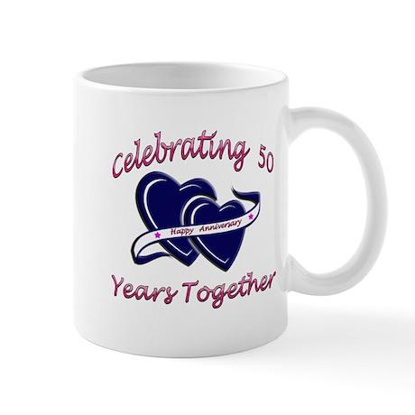 celebrating heart 50 Mugs