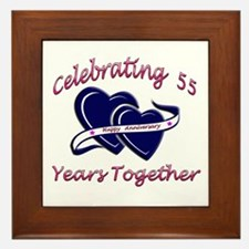 50th wedding anniversary party Framed Tile