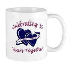 Cute 55th wedding anniversary Mug