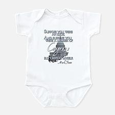 Mark Twain on Idiots in Congr Infant Bodysuit