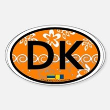 Duck NC - Oval Design Decal
