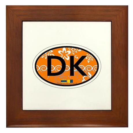 Duck NC - Oval Design Framed Tile