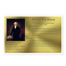 08: Martin Van Buren Postcards (8 Pack)