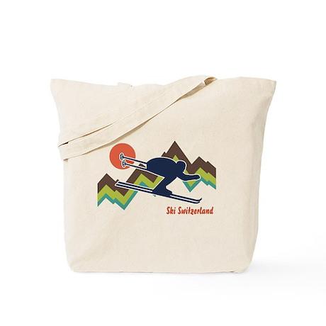 Ski Switzerland Tote Bag