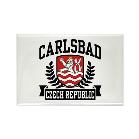Carlsbad Czech Republic Rectangle Magnet