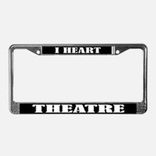 Theatre Lover License Plate Frame