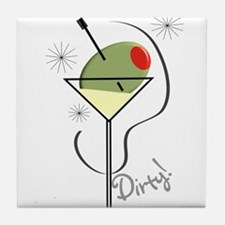 Party People Tile Coaster