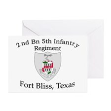 2nd Bn 5th Infantry Greeting Cards (Pk of 10)