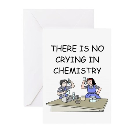 funny chemistry Greeting Cards (Pk of 10)