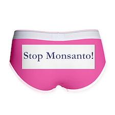 Stop Monsanto Women's Boy Brief