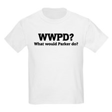 What would Parker do? Kids T-Shirt