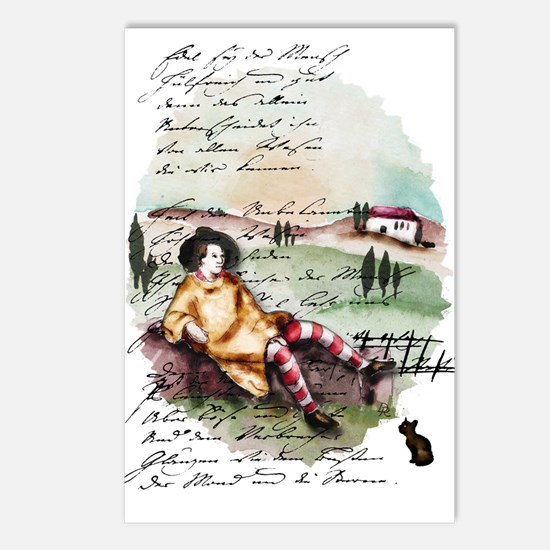 Goethe Toscana Postcards (Package of 8)