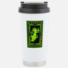Absinth Fairy Freya with cats green Travel Mug
