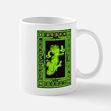 Absinth Fairy Freya with cats green Mug